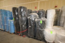 (5) Pallets of Black Exterior Mask Layer Rolls, Aprox. 240 Rolls (LOCATED IN LAS VEGAS, NV)