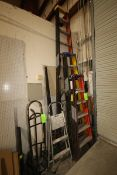 Lot of Assorted A-Frame Ladders & Step Stools, Assorted Sizes (LOCATED IN LAS VEGAS, NV)