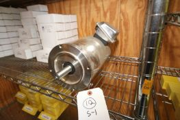 WEG 3 HP S/S CLAD MOTOR,3455 RPM MOTOR, 208-230/460 VOLTS, 3 PHASE (INV#80379)(Located @ the MDG