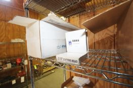 """(2) BOXES OF NEW 3/8"""" CUTTING HEADS(INV#80906)(Located @ the MDG Auction Showroom in Pittsburgh,"""