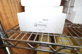 (40) BOXES OF URSCHEL SLICING BLADES,PART NO. 22061, EACH BOX IS 12 PACKAGES OF 8 SLICING BLADES (