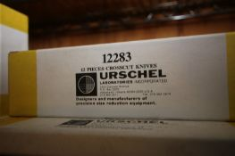 (13) BOXES OF URSCHEL CROSSCUT KNIVES,PART NO. 12283 (INV#80900)(Located @ the MDG Auction