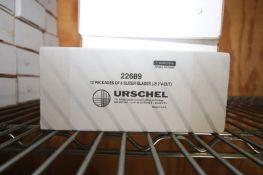 (19) BOXES OF URSCHEL SLICER BLADES,EACH BOX (12) PACKAGES OF (8) SLICER BLADES (.212 V CUT) (INV#