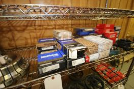 LOT OF ASSORTED BEARINGS,INCLUDES MANUFACTURERS SEALMASTER, LINK-BELT, AETNA, MARATHON, & OTHERS (