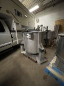 LEGROW / BROTHERS METAL PRODUCTSCENTRIFUGAL VEGETABLE SPIN DRYER, S/N B1200799L5G4AT, WITH VFD SPEED