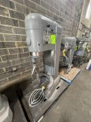HOBART MIXER, MODEL M802, S/N 11-048-103, WITH BEATER ATTACHMENT, 220 V