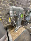 HOBART MIXER, MODEL H-600, S/N 1582849, WITH (2) BEATER ATTACHMENT, 208V 3 PHASE