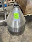 S/S FUNNEL, BELIEVED TO BE FOR A FILLER (RIGGING, LOADING, SITE MANAGEMENT FEE $25)