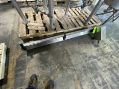 """CONVEYOR 6"""" W X 72"""" L, 1/4-HP (RIGGING, LOADING, SITE MANAGEMENT FEE $25)"""