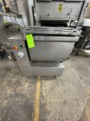 KOCH 5-CUBIC FOOT TILTING PADDLE BLENDER, MODEL A-150, S/N 1098 7-01, PORTABLE UNIT MOUNTED ON
