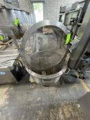 """(2) BLANCHING BASKETS, APPROX. 14"""" DEEP X 30"""" DIA (RIGGING, LOADING, SITE MANAGEMENT FEE $25)"""