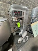 HOBART LEGACY MIXER, MODEL HL662, S/N 31-1415-919, WITH DOUGH HOOK AND BEATER ATTACHMENT, 380/460 V