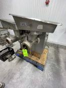 BIRO MEAT GRINDER, MODEL G58482A, S/N C019714156-002F, 5-HP, 208 V (RIGGING, LOADING, SITE