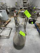 ORICS PISTON FILLER, MODEL VFN01600, S/N MNP4065, 24 V, (RIGGING, LOADING, SITE MANAGEMENT FEE $200