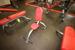 Over Head Press Bench, with (2) Wheels on Frame (LOCATED @ 2800 GOLDEN MILE HWY, ROUTE 286,