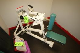 """Cybex Rear Delt Cable Row Machine, Overall Dims.: Aprox. 57"""" L x 34"""" W x 38"""" H (LOCATED @ 2800"""