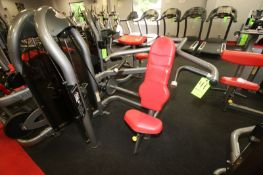 """Matrix Shoulder Press Cable Machine, 10-200 lbs. Weight Range on Plates, Overall Dims.: Aprox. 55"""" L"""