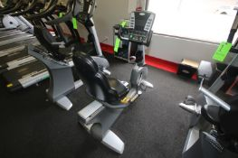 "Matrix Stationary Bike, M/N MX-R5x, with Adjustable Seat, Overall Dims.: Aprox. 59"" L x 30"" W x"