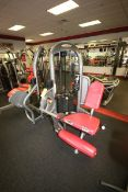 Matrix Leg Extension Cable Machine, 10-250 lbs. Weight Range on Plates, Overall Dims.: 3' L x 3-1/2'