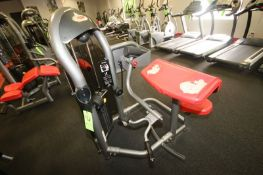 """Matrix Arm Curl Cable Machine, 10-200 lbs. Weight Range on Plates, Overall Dims.: Aprox. 48"""" L x 48"""""""
