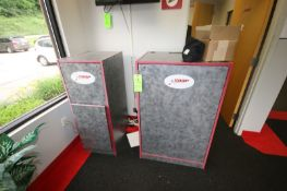 (2) Wooden Cabinets, with Internal Shelves & Contents (LOCATED @ 2800 GOLDEN MILE HWY, ROUTE 286,