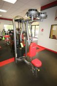 Matrix Pec Fly & Rear Delt Cable Machine, 10-295 lbs. Weight Range on Plates, Overall Dims.: