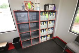 """Wooden Cubby Holes, Overall Dims.: Aprox. 52"""" L x 18"""" W x 60"""" H (LOCATED @ 2800 GOLDEN MILE HWY,"""