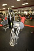 Matrix Leg Press Cable Machine, 10-385 lbs. Weight Range on Plates, Overall Dims.: Aprox. 5-1/2' L x