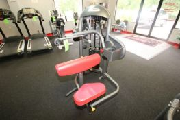 """Matrix Triceps Extension, 10-200 lbs. Weight Range on Plates, Overall Dims.: Aprox. 47"""" L x 43"""" W"""