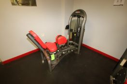 Hip Adduction Cable Machine, Weight Plates: 10 lbs.- 220 lbs. with (2) 5 lbs. Adjustable Weights,