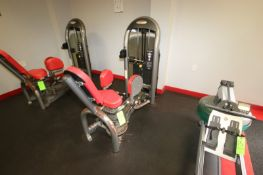 Hip Abduction Cable Machine, Weight Plates: 10 lbs.- 220 lbs. with (2) 5 lbs. Adjustable Weights,