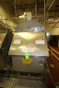2001 American Process Systems S/S Filter Hopper, M/N D212-5690, S/N 5690, with S/S Lid, with Incline