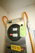Honeywell S/S Chart Recorder, with Digitial Read Out, 120/240 Volts, Wall Mounted (LOCATED IN