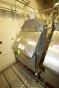 2001 American Process Systems S/S Filter Hopper, M/N D212/5689, with S/S Lid, with Incline Auger