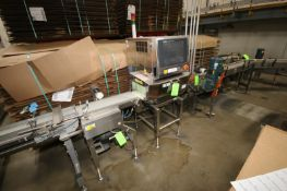 "Anritsu X-Ray Inspection Machine, S/N 4600196477, with Aprox. 10-1/2"" W Belt, with Aprox. 13"" W x"