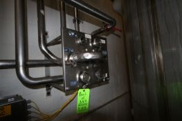 (5) S/S Jumper Stations, with (2) with 7-Ports. (1) with 4-Ports, & (2) with 5-Ports. (LOCATED IN