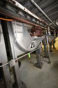 14,000 lb. S/S Ribbon Blender, S/N 3894-91, R.H.,with 75 hp Motor, 460 Volts, 3 Phase, Internal