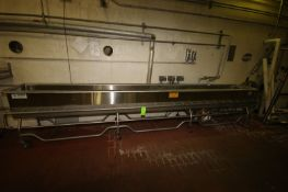 Sani-Matic S/S COP Tank, M/N COP-1321, S/N 180422, with 10 hp Centrifugal Pump, with Side Jet,