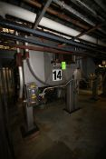 14,000 lb. S/S Ribbon Blender, with 75 hp Motor, 460 Volts, 3 Phase, Internal Blending Compartment