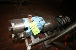 """2016 SPX 5 hp Positive Displacement Pump, M/N 130 U1 R1-0, S/N 1000003082066, with Aprox. 3"""" Clamp"""