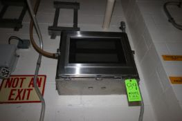 (2) Electronic/Digitial Display Boards, Wall Mounted in S/S Enclosures (LOCATED IN CHAMPAIGN, IL)