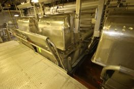 14,000 lb. S/S Ribbon Blender, S/N 64750-62, Item 26 L.H. 71-17, with Reliance 100 hp Motor, 1785
