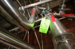 Remaining In-Line S/S Air Valves In Taco Bell Room, Some with Think Tops, Made by WCB & Tri-