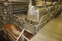 14,000 lb. S/S Ribbon Blender, S/N 64750-G3, Item 27 R.H. 71-21, with Reliance 100 hp Motor, 1785