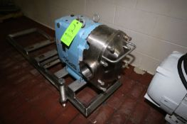 """2015 SPX Positive Displacement Pump Head, M/N 220UL, S/N 1000002994859, with Aprox. 4"""" Clamp Type"""