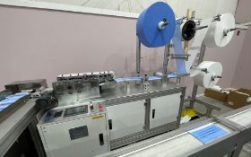 COMPLETE PACKAGE: 2020 3-Ply Disposable Medical Mask Assembly & Packaging Line Equipment, Includes: