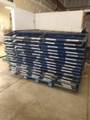 ROLL THRU PALLET RACKING (LOCATED IN MADISON, WI)