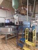 SIVETZ 1-1/2 BAG COFFEE ROASTER WITH AFTER BURNER (LOCATED IN MADISON, WI)(RIG FEE: $3,000)