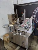 PACIFIC BAG COMPANY 2-CUP K-CUP MACHINE, MODEL PBIDEAS-2C ROTARY(LOCATED IN CLIFTON PARK, NY)