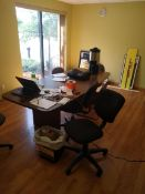 CONFERENCE TABLE WITH 2 CHAIRS (LOCATED IN MADISON, WI)